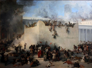 Francesco Hayez - Destruction du Temple de Jérusalem