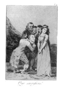 Francisco De Goya - Quel sacrifice!