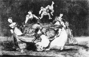 Francisco De Goya - Folly féminin