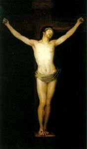 Francisco De Goya - Christ crucifié