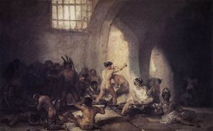 Francisco De Goya - Le Madhouse