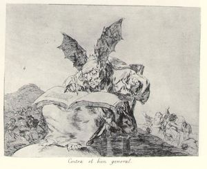 Francisco De Goya - contre l- commune bonne