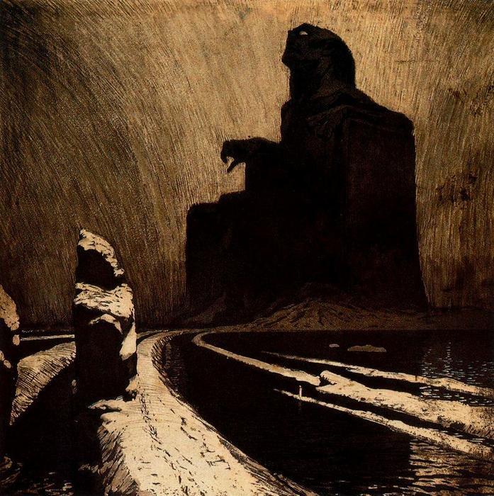 Le Idol Black résistance , 1903 de Frantisek Kupka (1871-1957, Czech Republic) |  | WahooArt.com