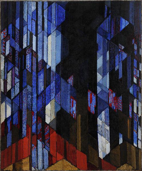 cathédrale, 1913 de Frantisek Kupka (1871-1957, Czech Republic) |  | WahooArt.com