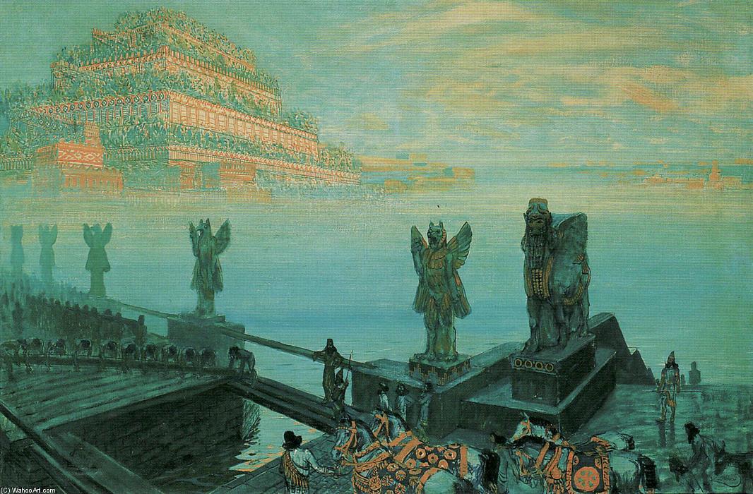 Babylone, 1906 de Frantisek Kupka (1871-1957, Czech Republic) |  | WahooArt.com