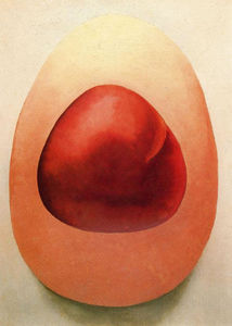 Georgia O-keeffe - rouge et rose rocks