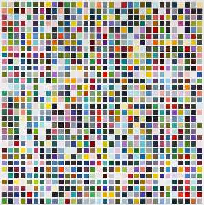 Gerhard Richter - 1024  couleurs