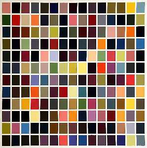 Gerhard Richter - 180  couleurs