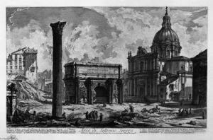 Giovanni Battista Piranesi - Arc de Septime Sévère