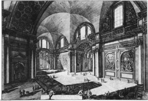 Giovanni Battista Piranesi - Vedute di Roms ( 95 )