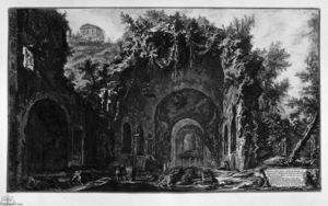 Giovanni Battista Piranesi - Vue de Temple de Camene