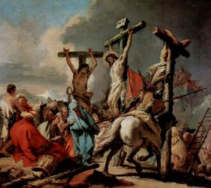 Giovanni Battista Tiepolo - Crucifixion