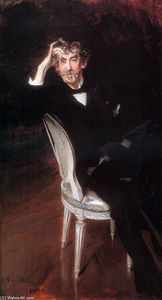 Giovanni Boldini - Portrait de James Abbott McNeil Whistler