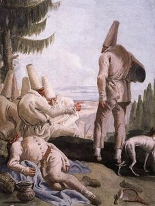 Giovanni Domenico Tiepolo - Pulcinella Holiday