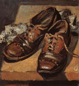 Grant Wood - vieux chaussures