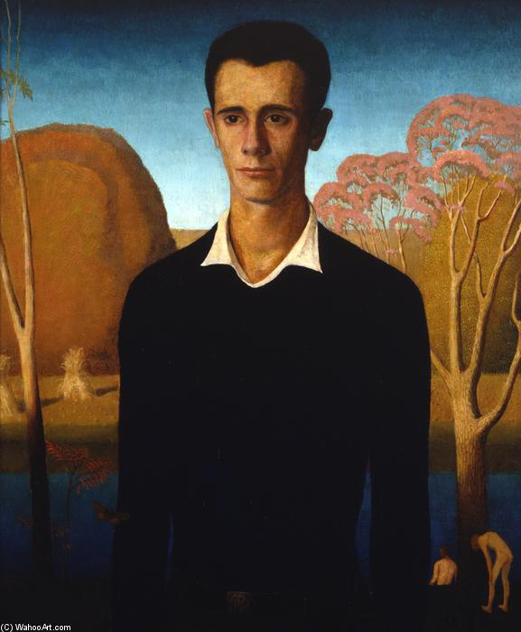 Arnold Comes of Age, 1930 de Grant Wood (1891-1942, United States)