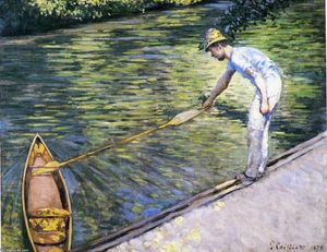 Gustave Caillebotte - Canotage sur l Yerres