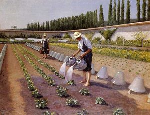 Gustave Caillebotte - Les jardiniers