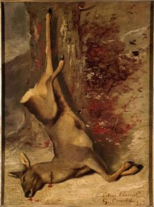 Gustave Courbet - le cerf