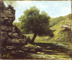 Gustave Courbet - Paysage