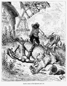 Paul Gustave Doré - don Quichotte 10