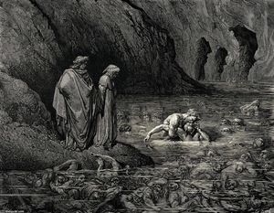 Paul Gustave Doré - l-inferno chant  32