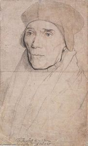 Hans Holbein The Younger - Portrait de l évêque John Fisher