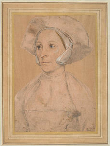 Hans Holbein The Younger - Portrait d une Anglaise