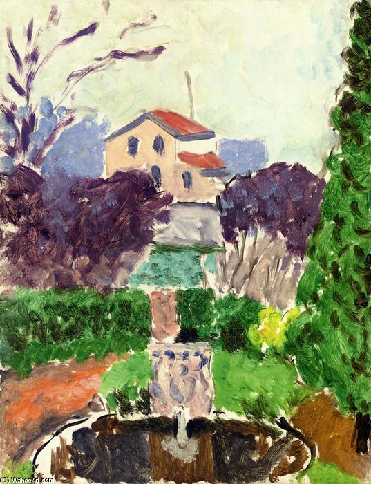 Le Jardin De L Artiste Issy Les Moulineaux Huile Sur