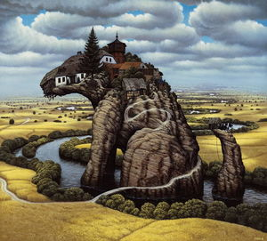 Jacek Yerka - Rock Little Dog