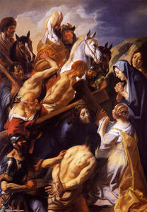 Jacob Jordaens - Le Christ portant la cross