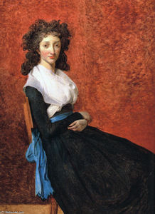 Jacques Louis David - Portrait de Madame Charles-Louis Trudaine