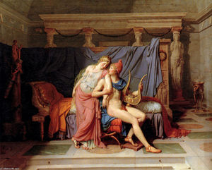 Jacques Louis David - Paris et Hélène