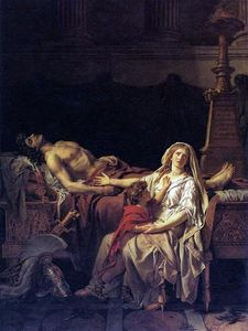 Jacques Louis David - La Douleur d Andromaque