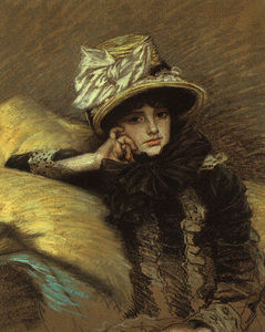 James Jacques Joseph Tissot - Berthe