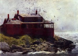Jamie Wyeth - le rouge maison