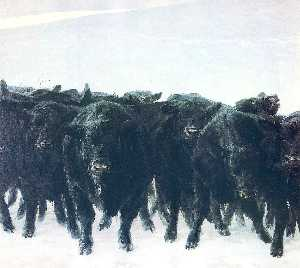 Jamie Wyeth - Angus