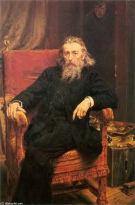 Jan Matejko - autoportrait