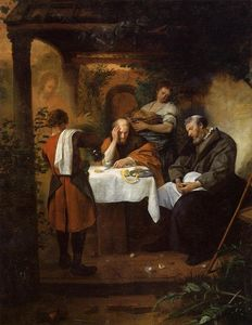Jan Steen - Souper à Emmaüs