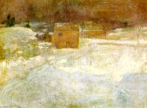 John Henry Twachtman - paysage dhiver