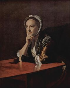John Singleton Copley - Mrs.Humphrey Devereux