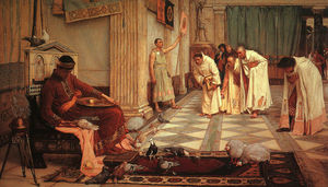 John William Waterhouse - Les favoris de l empereur Honorius