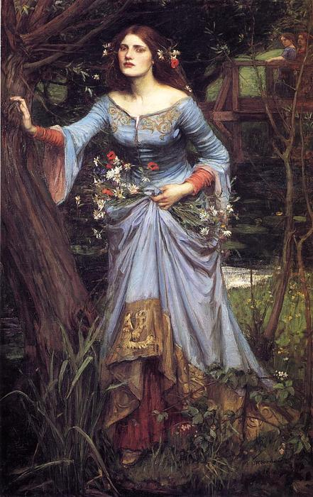 Achat Reproductions D'œuvres D'art | Ophelia, 1889 de John William Waterhouse (1849-1917, Italy) | WahooArt.com