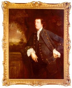 Joshua Reynolds - portrait de sir william lowther , 3rd BT