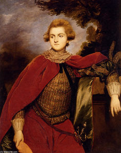 Joshua Reynolds - Portrait de lord robert spencer