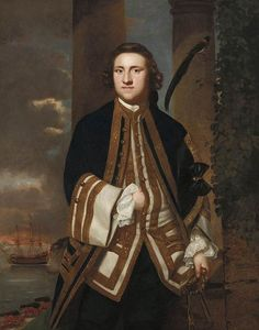 Joshua Reynolds - Capitaine de l honorable George Edgcumbe