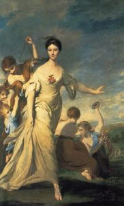 Achat Reproductions D'art | Mme Hale, 1766 de Joshua Reynolds (1723-1792, United Kingdom) | WahooArt.com