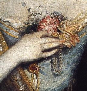 Joshua Reynolds - Anne Dashwood (détail)