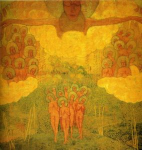 Achat Reproductions D'art | Triumph of the Skies, 1907 de Kazimir Severinovich Malevich (1878-1935, Ukraine) | WahooArt.com