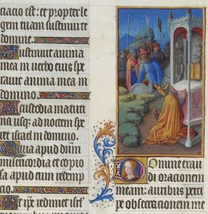 Limbourg Brothers - Psaume CXLII